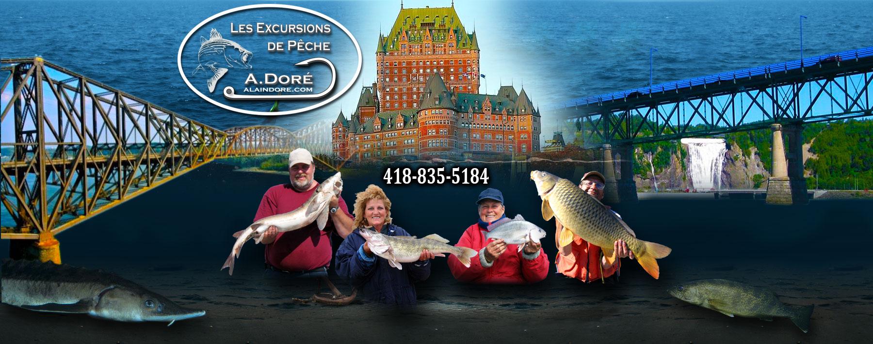Alain Doré guide de pêche à Québec